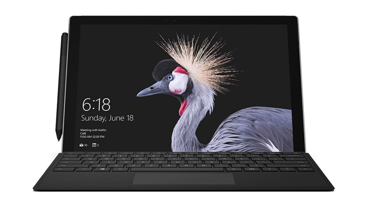 Surface Pro Type Cover - Black