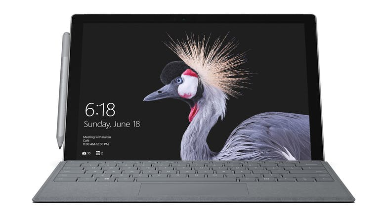 Surface GO Signature Type Cover - Platinum