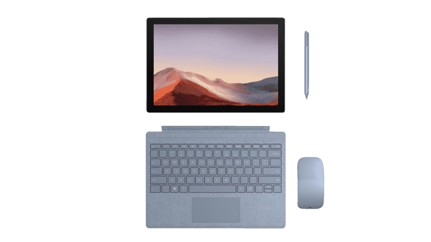 Surface Pro Signature Type Cover - Ice Blue