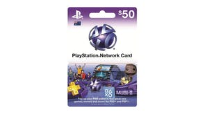 PlayStation $50 Network Card