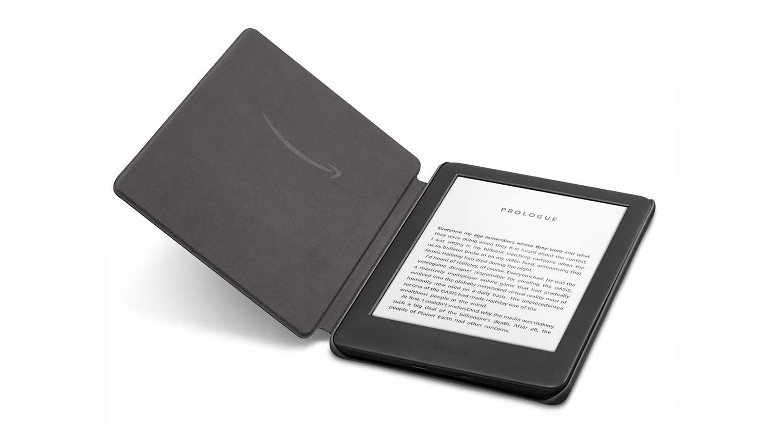 Amazon Kindle Fabric Cover – Charcoal Black