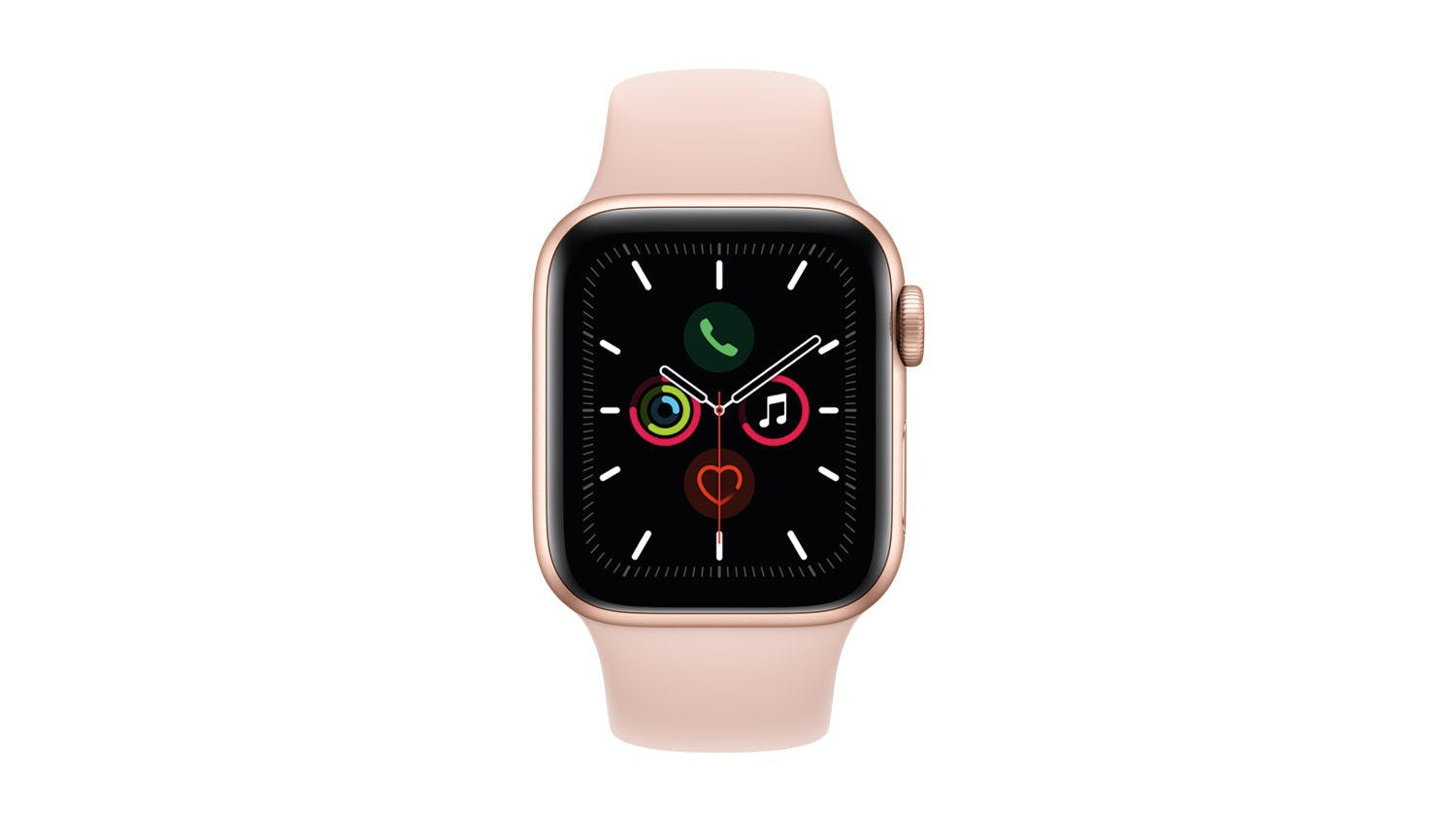 Apple Watch Series 5 (GPS) 40mm Gold + Pink Sport Band
