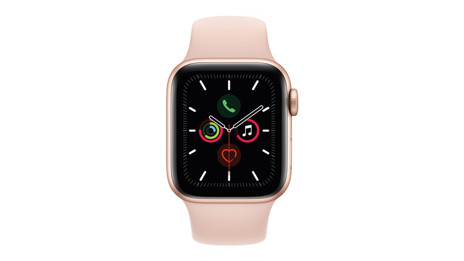 Apple Watch Series 5 (GPS+Cellular) 40mm Gold + Pink Sand Sport Band
