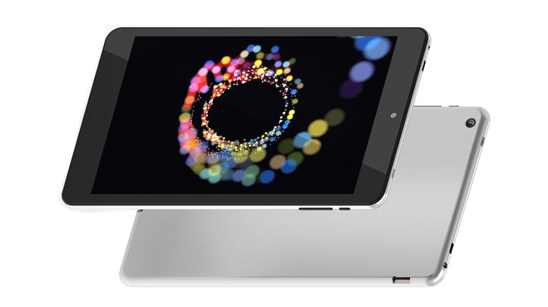 "Ollee 8"" T08HM3MS Tablet - Black/Silver"