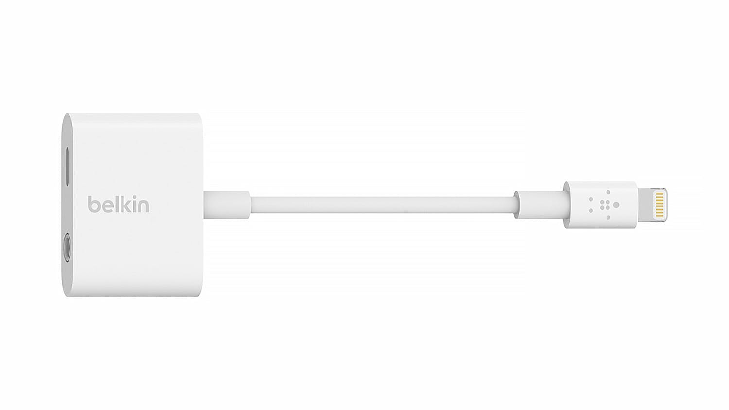 Belkin RockStar 3.5 mm Audio + Charge iPhone Adapter