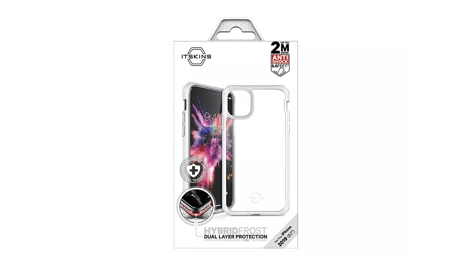 ITSKINS Hybrid Mkii Case for iPhone 11 - Clear