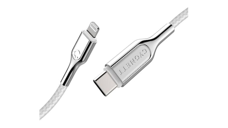 Cygnett 10CM Armoured Lightning to USB-C Cable