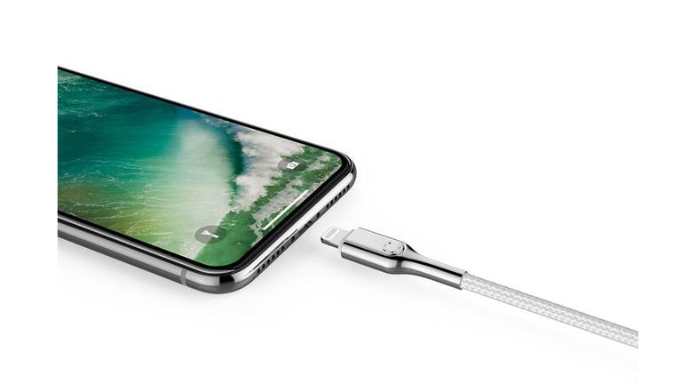 Cygnett Armoured Lightning to USB-C Cable - 10cm