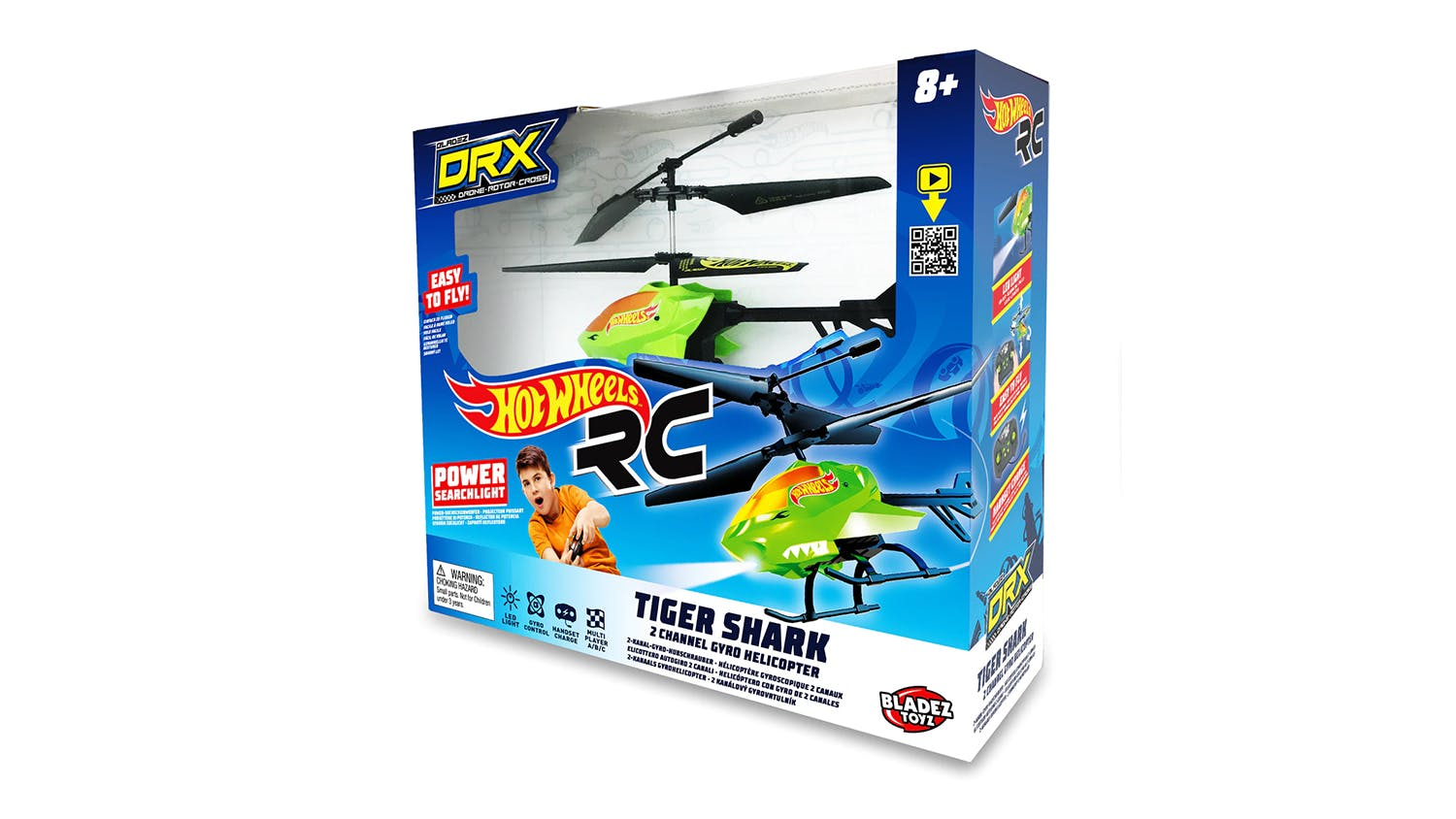 Hot Wheels DRX Tiger Shark RC Helicopter