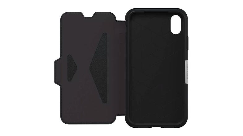Otterbox Strada Series Folio Case for iPhone XR – Black