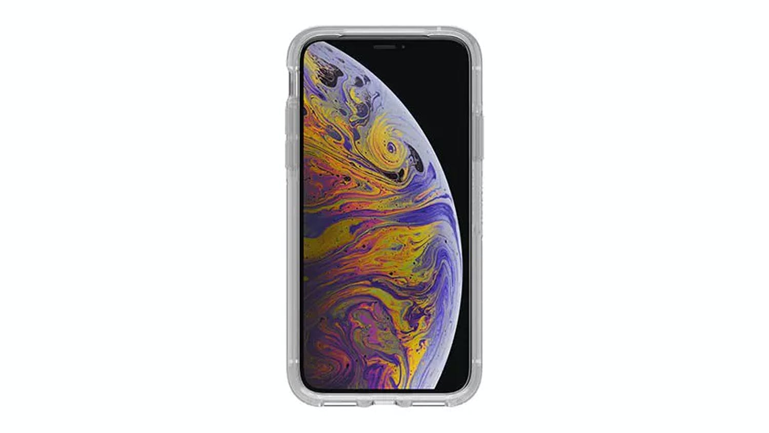 Otterbox Symmetry All Blacks Case for iPhone XS Clear