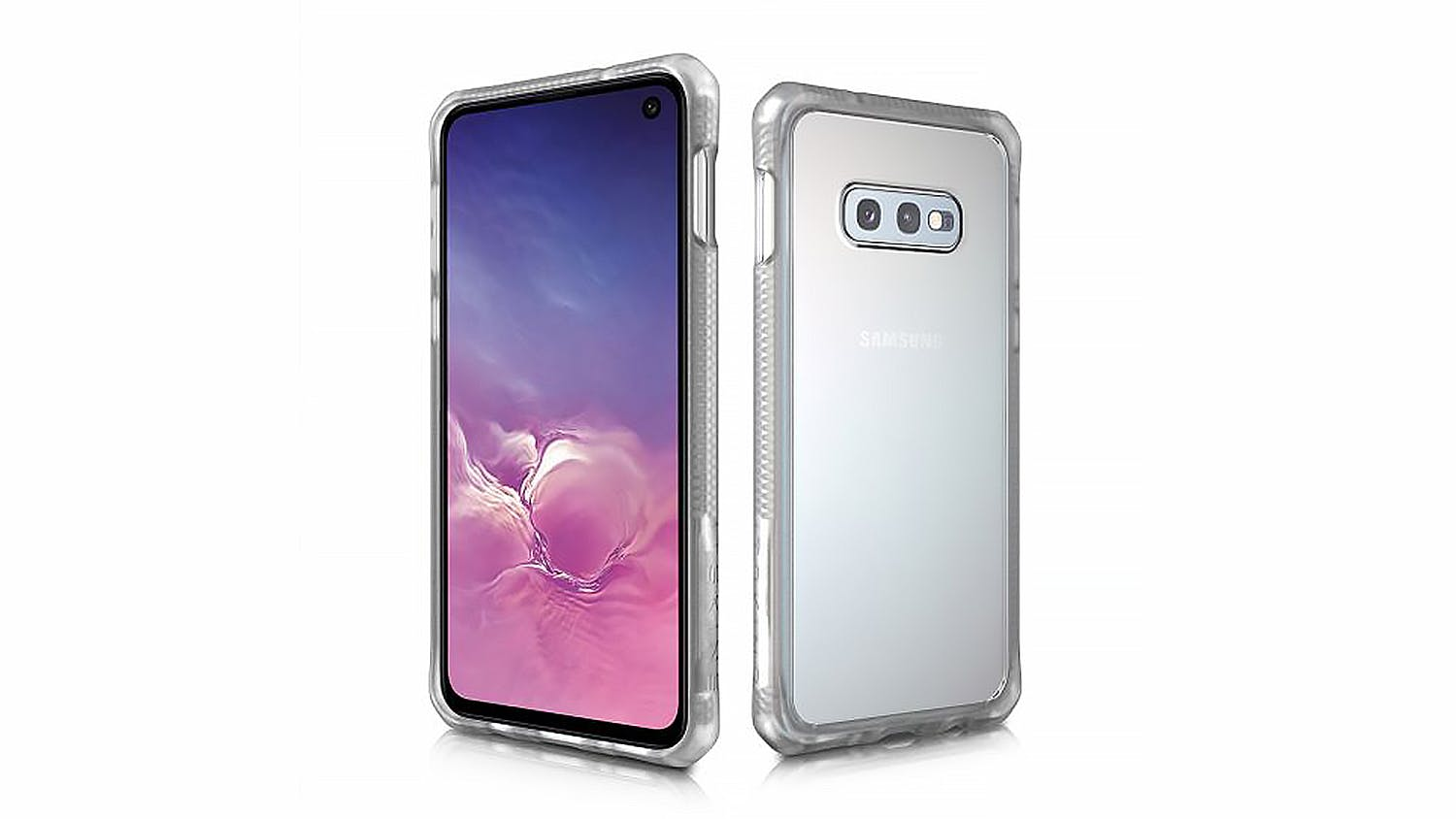 ITSKINS Hybrid MKII Case for Samsung Galaxy S10e - Clear
