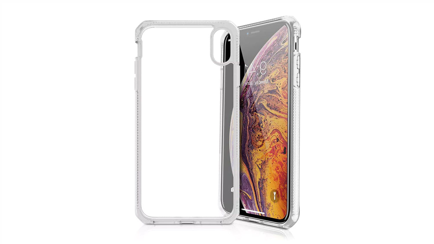 ITSKINS Hybrid MKII Case for iPhone XS Max  - Clear