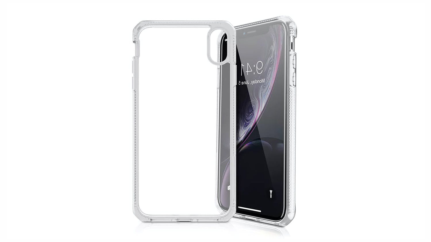 ITSKINS Hybrid MKII Case for iPhone XR  - Clear