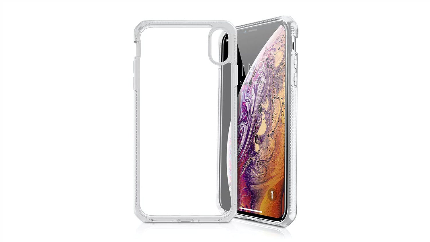 ITSKINS Hybrid MKII Case for iPhone X/XS  - Clear