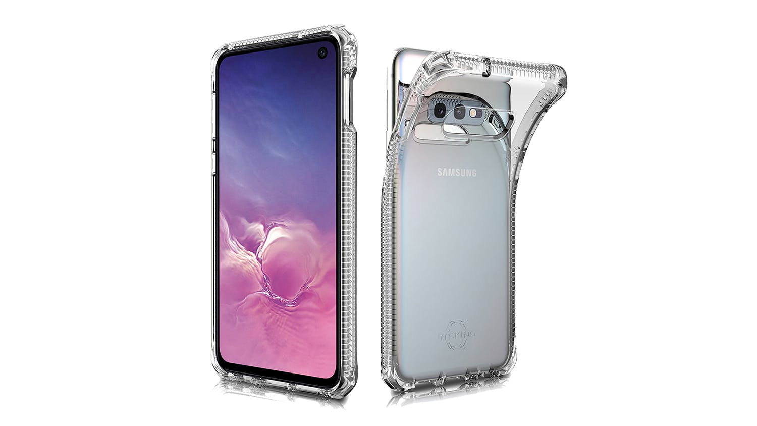 ITSKINS Spectrum Case for Samsung Galaxy S10e - Clear