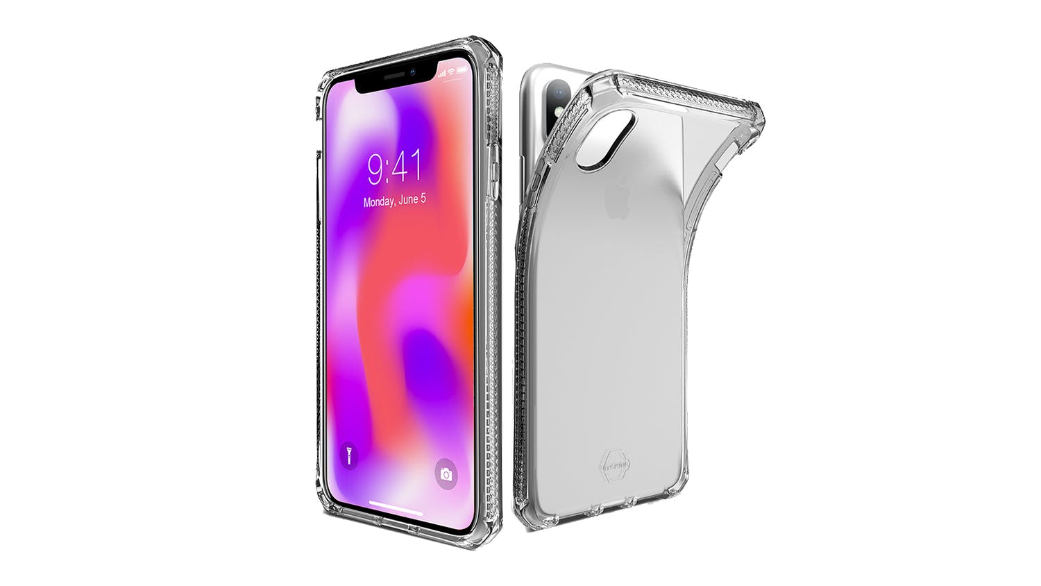 ITSKINS Spectrum Case for iPhone XS Max - Clear
