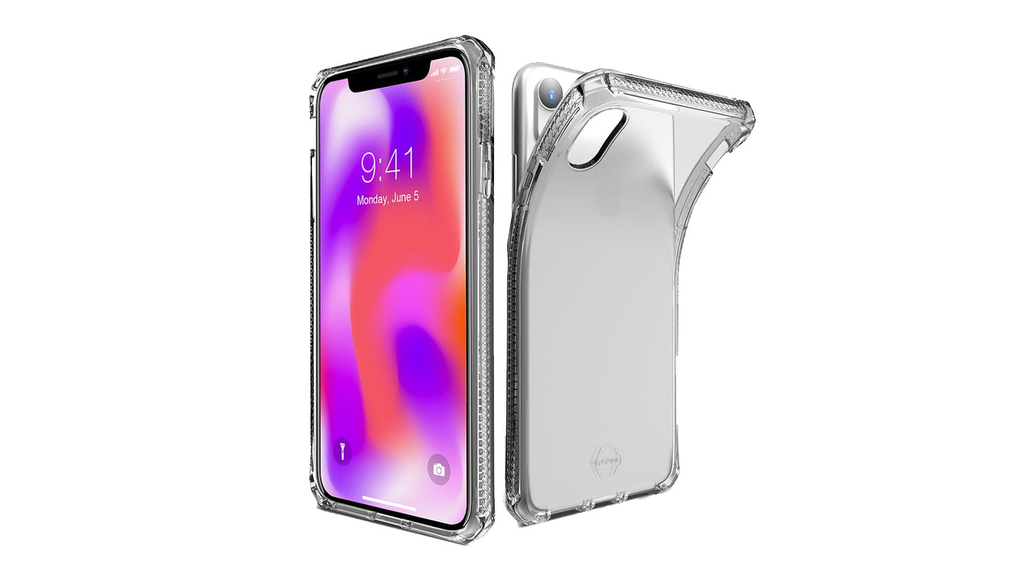 ITSkins Spectrum Case for iPhone XR - Clear