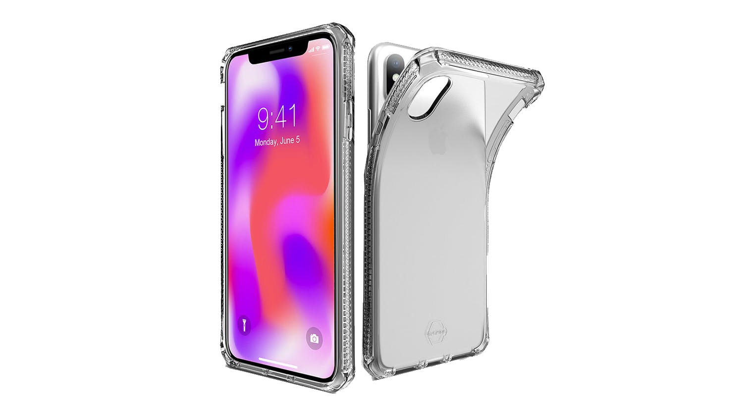ITSkins Spectrum Case for iPhone X/XS - Clear