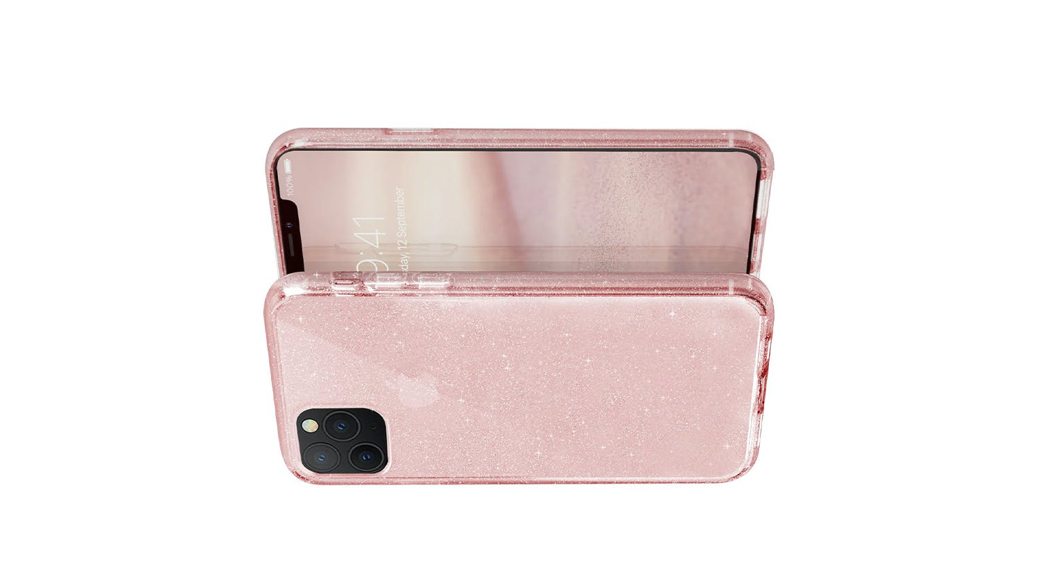 Uniq Tinsel Case for iPhone 11 Pro - Pink