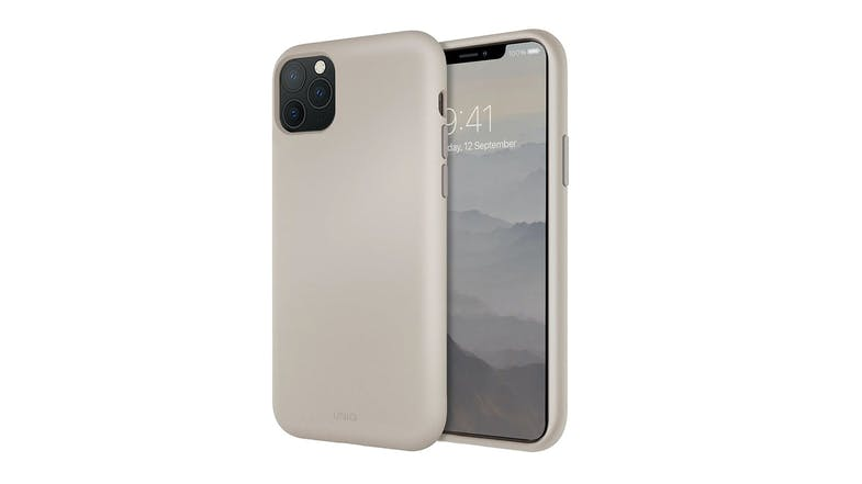 Uniq iPhone 11 Pro Liquid Silicone - Ivory