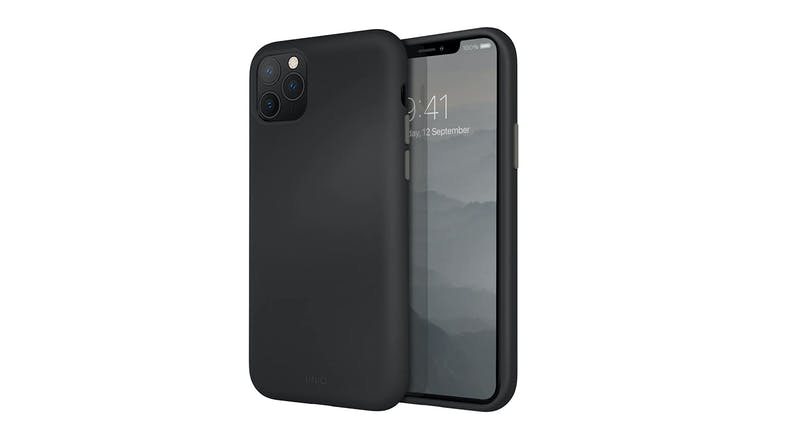 Uniq iPhone 11 Pro Max Liquid Silicone - Gray