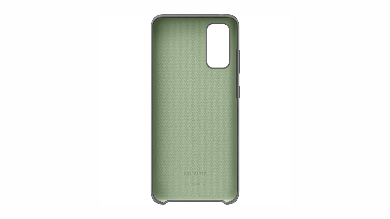 Samsung Silicone Cover for Samsung Galaxy S20  - Grey