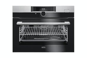 AEG	45cm Built-In Steam Oven