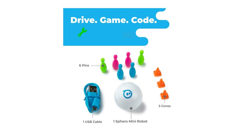 Sphero Mini App-Enabled Robotic Ball - White