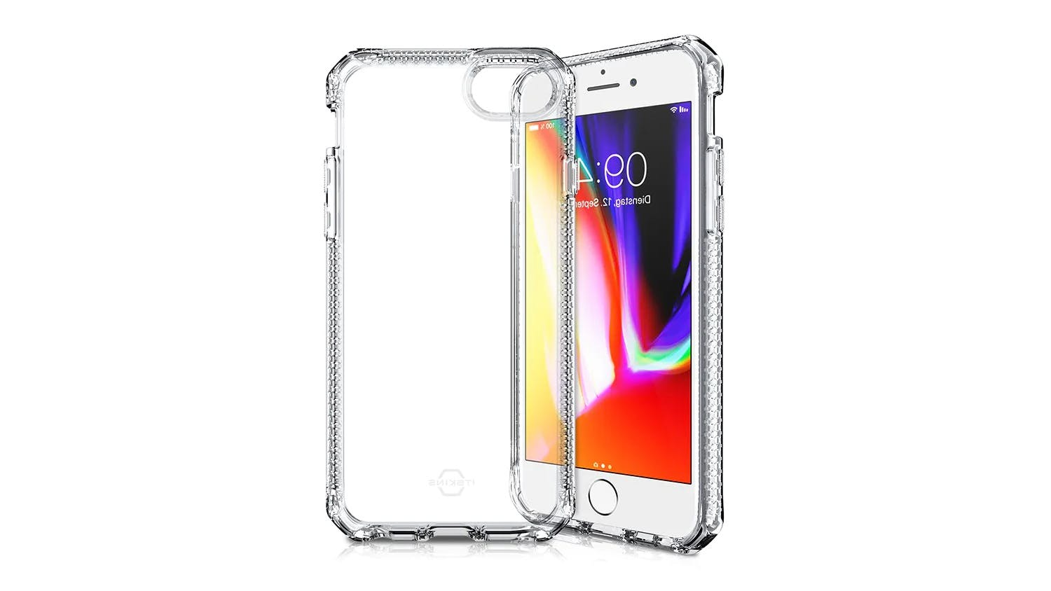 ITSKINS Spectrum Case for iPhone SE (2nd Gen), 7/8 - Clear