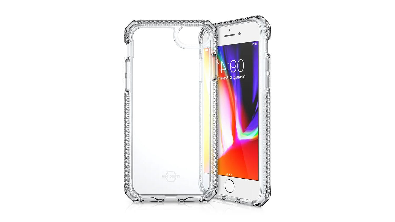 ITSKINS Supreme Case for iPhone SE (2nd Gen), 7/8 - Clear