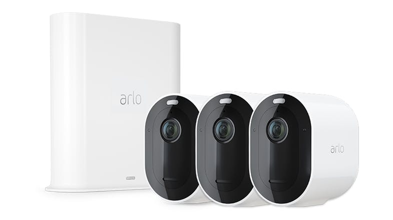 Arlo Pro 3 Smart Home Security System with 3 2K QHD Cameras