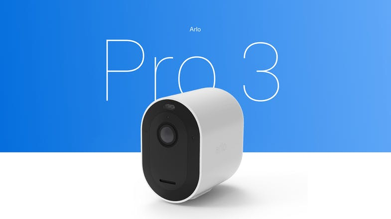 Arlo Pro 3 Smart Home Security System with 4 2K QHD Cameras