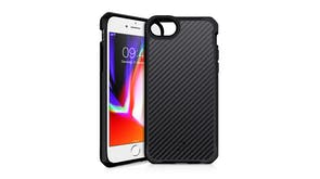 ITSKINS Hybrid Fusion Case for iPhone SE (2nd Gen), 7/8 - Black