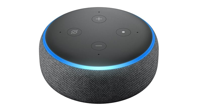 Amazon Echo Dot (3rd Gen) - Charcoal Fabric