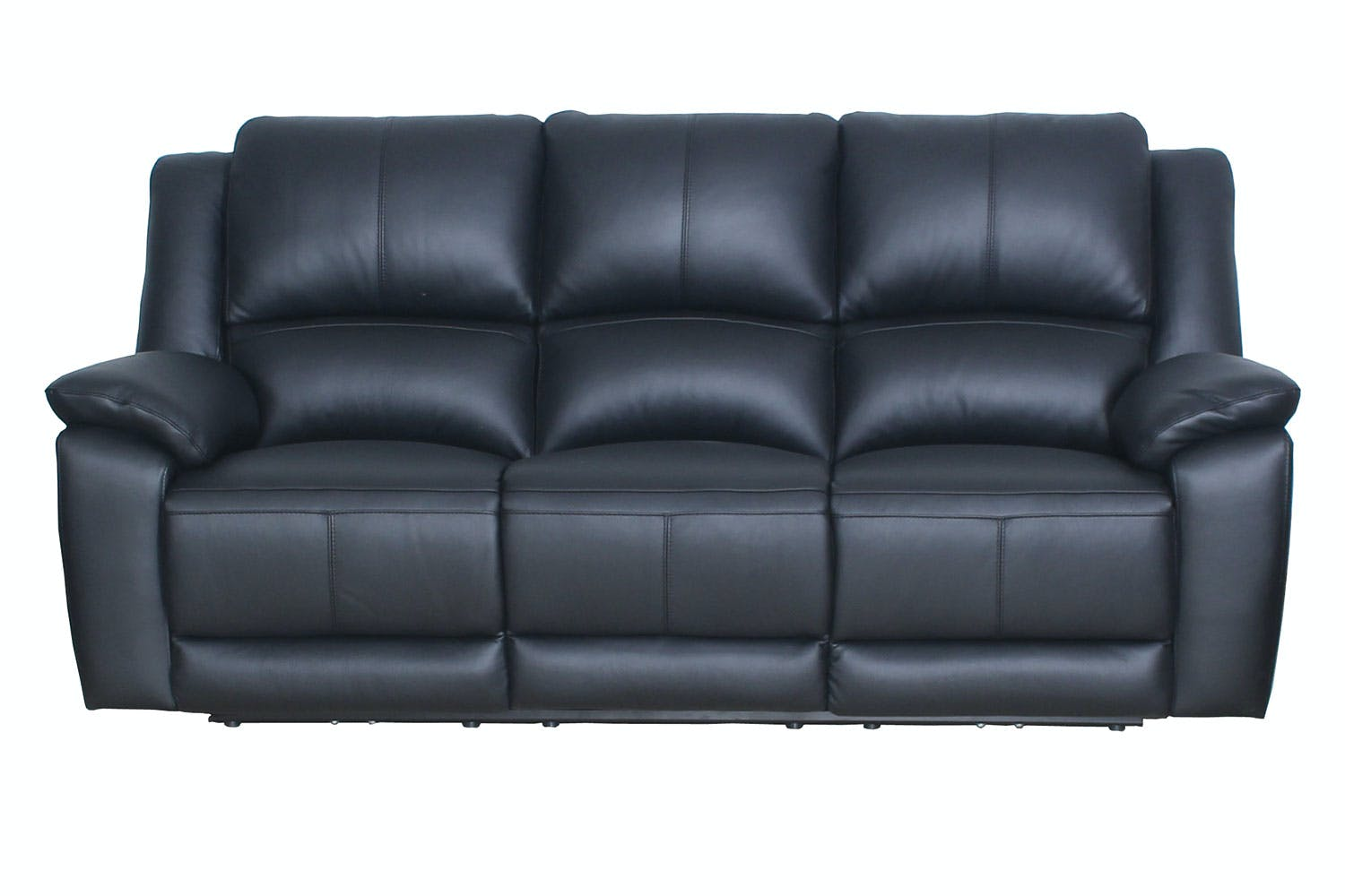 3 Seater Ed Leather Recliner Sofa