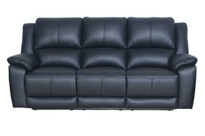 Gaucho 3 Seater Powered Leather Recliner Sofa