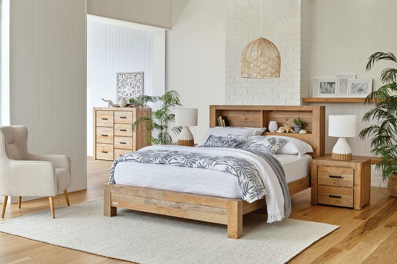 Coolmore 4 Piece Queen Dresser and Mirror Suite by Stoke Furniture