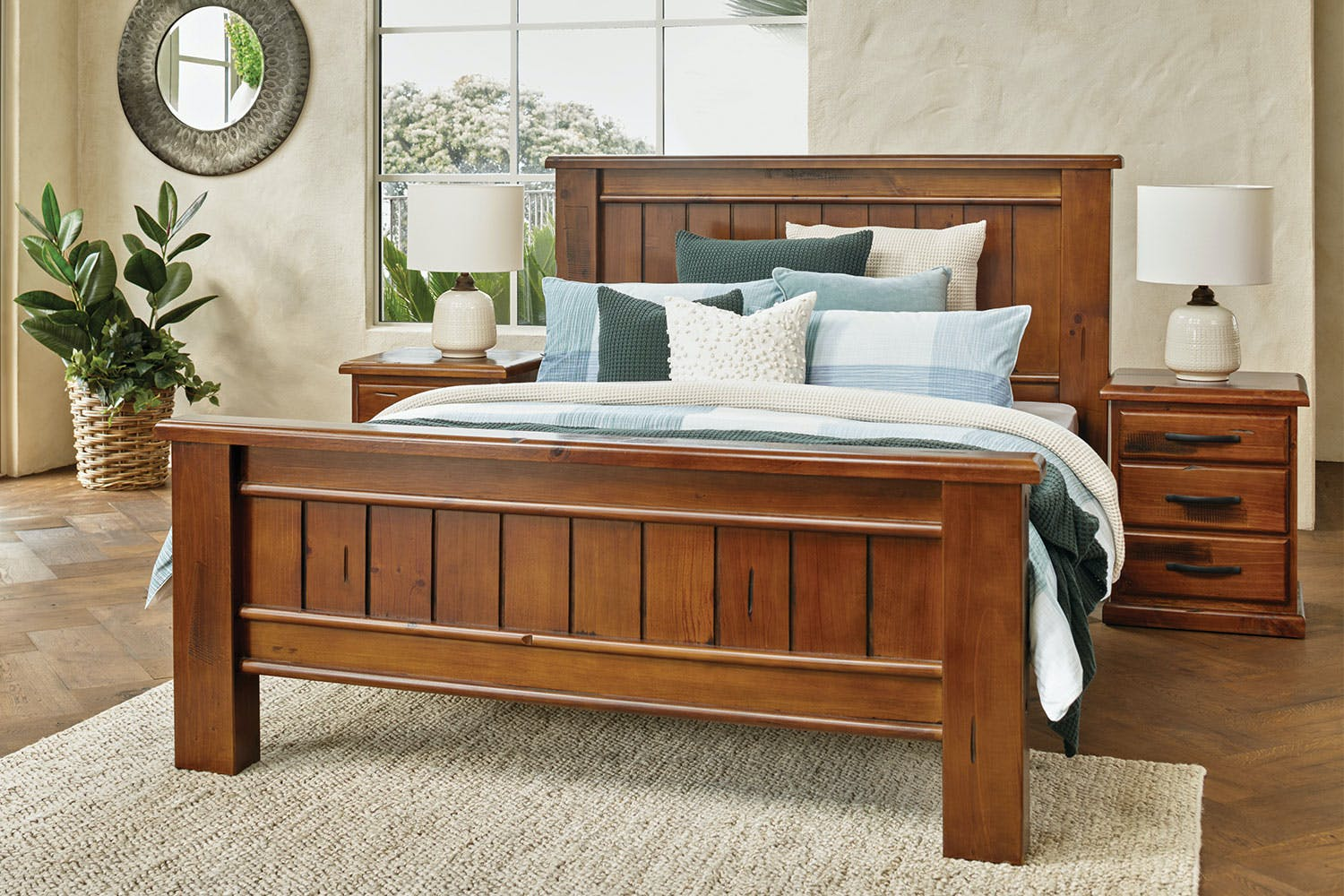 Rye Queen Bed Frame by John Young Furniture