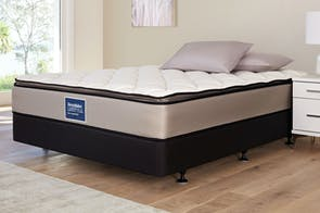 Sleep Support Soft Queen Bed by Sleepmaker