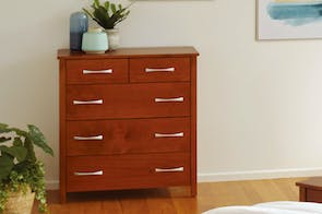 Tillsdale 5 Drawer Tallboy by Coastwood Furniture