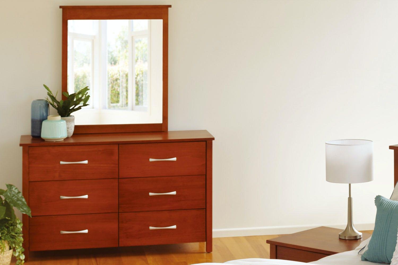 Tilale 6 Drawer Dresser With Mirror