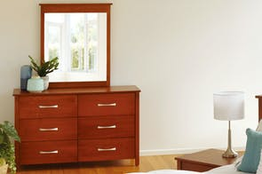 Tillsdale 6 Drawer Dresser with Mirror by Coastwood Furniture