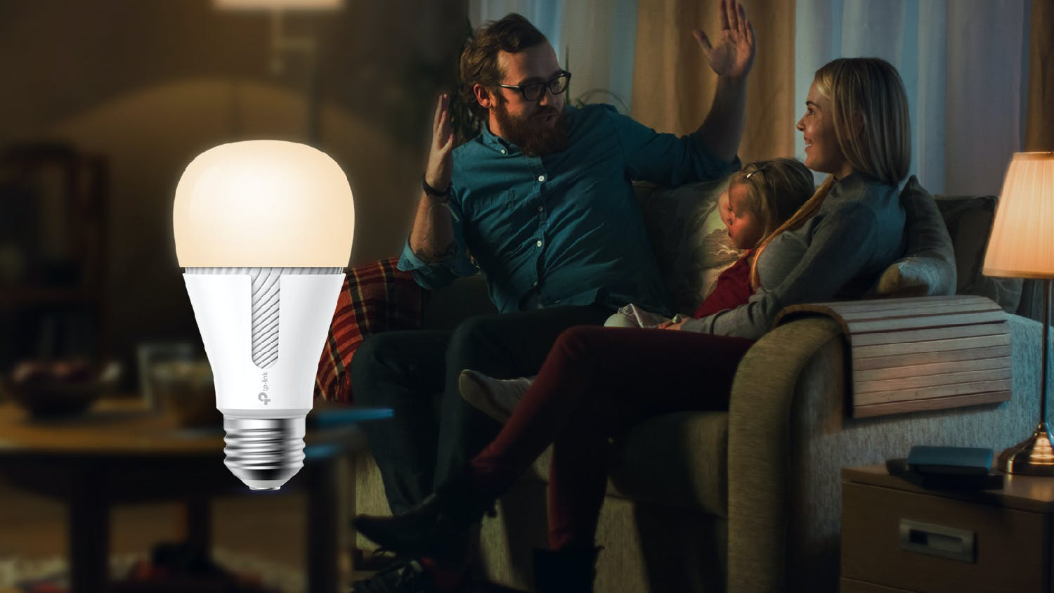 TP-Link Kasa KL110 Smart Wi-Fi Light Bulb Dimmable Screw