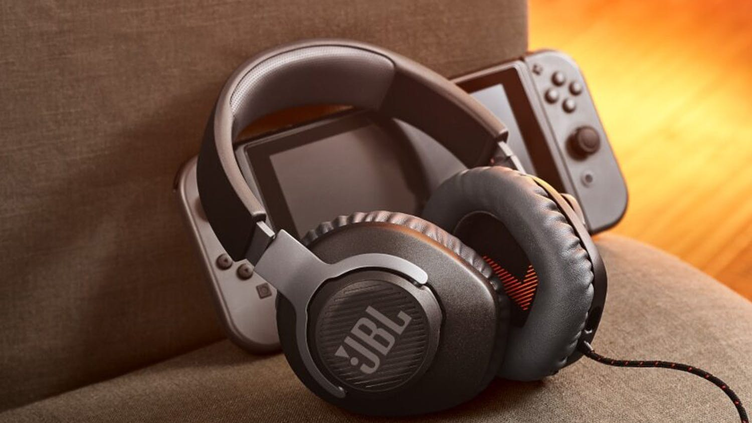 JBL Quantum 100 Over-Ear Gaming Headset - Black