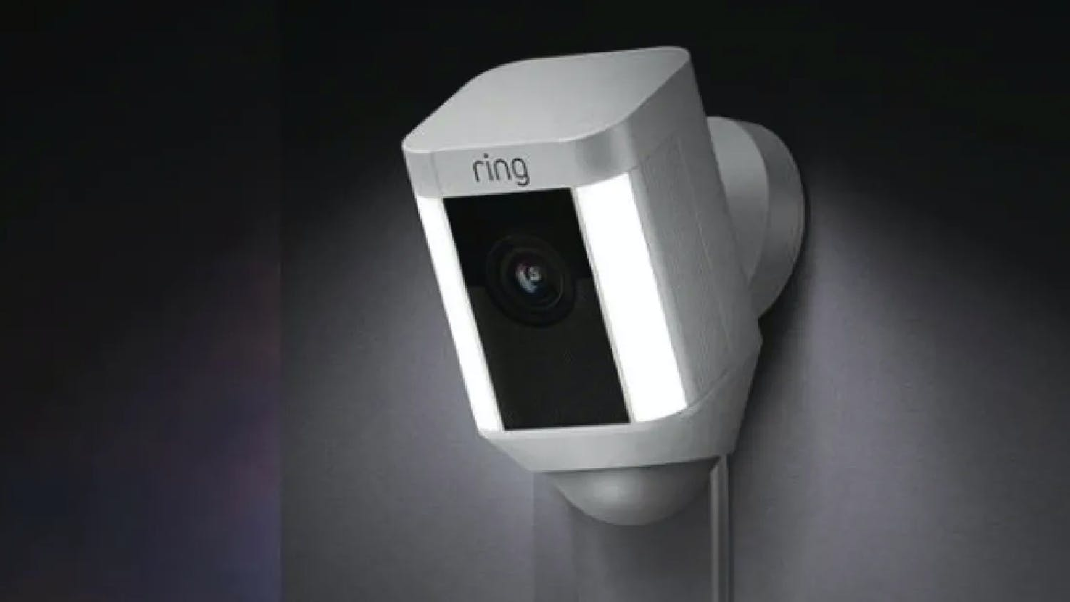 Ring Spotlight Wireless Camera - White