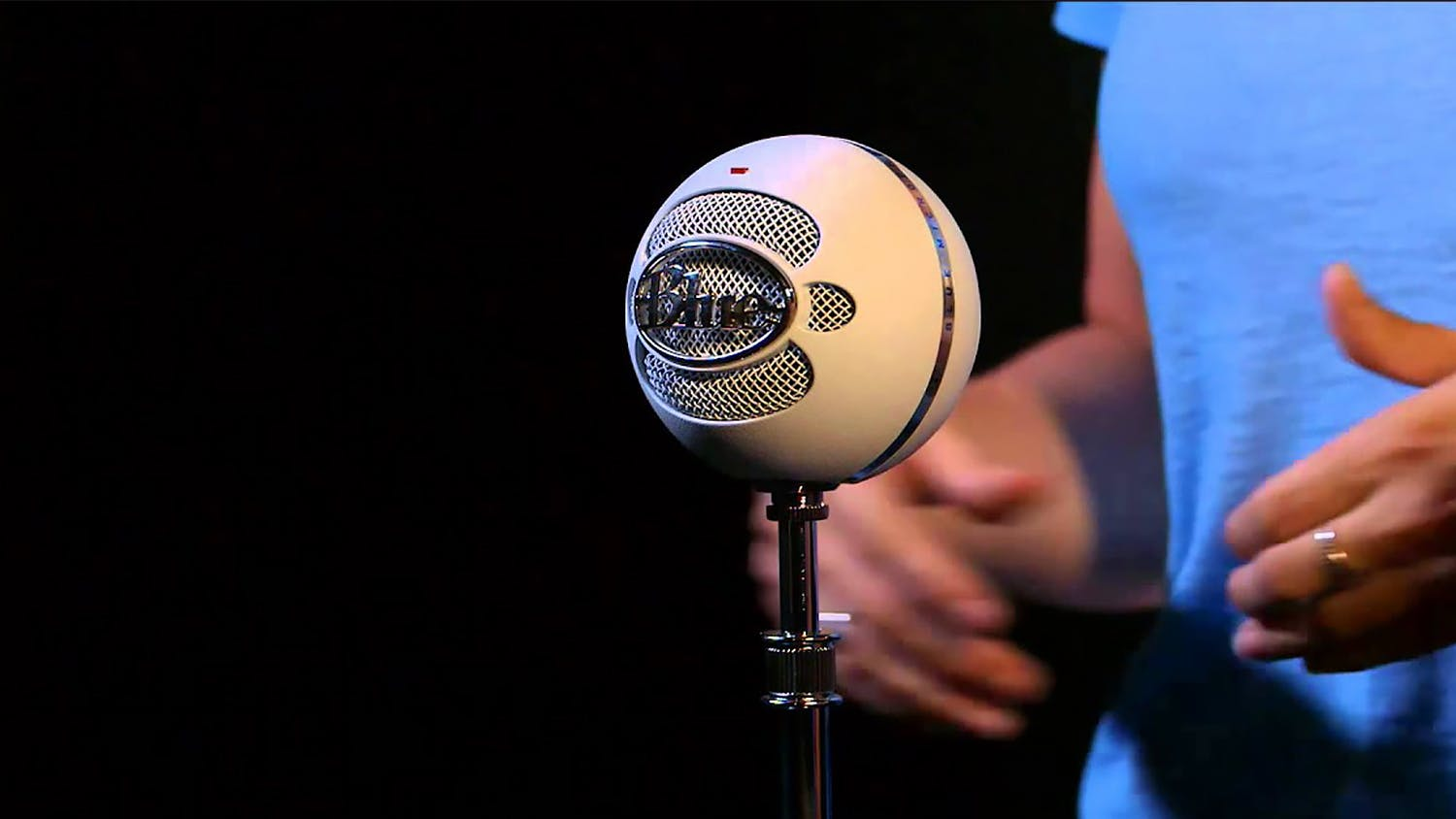 Blue Snowball USB Microphone - White