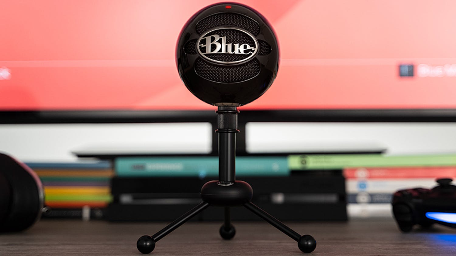 Blue Snowball USB Microphone - Black
