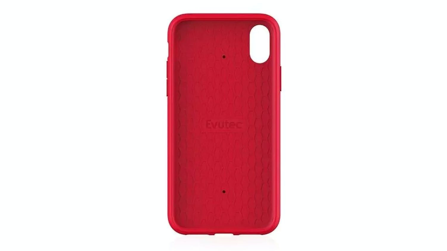 Evutec Aergo Ballistic Nylon Case for iPhone XS – Red