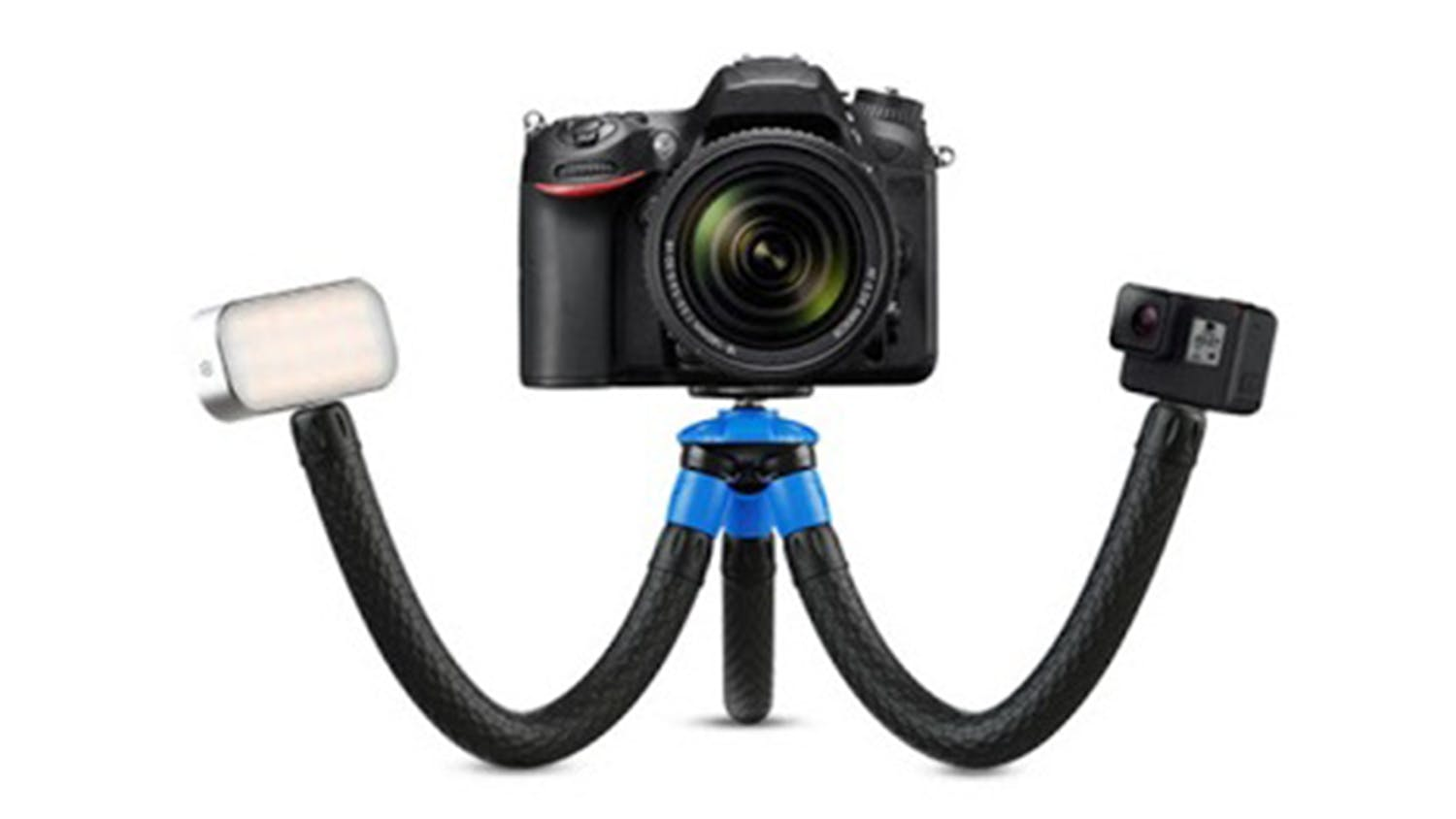 Apexel Flexible Detachable Tripod